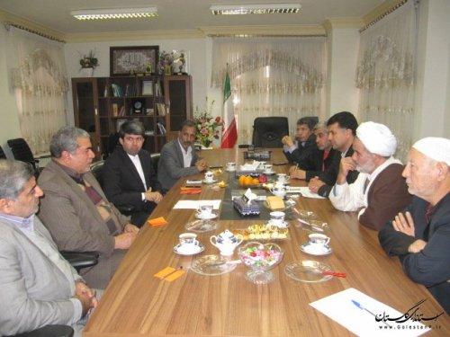 اولین جلسه کاری هیات اجرایی انتخابات شهرستان کلاله برگزار شد