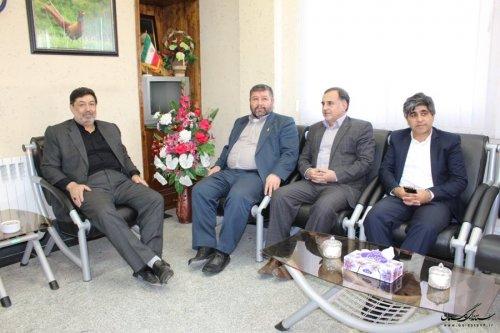 بازدید مشاور استاندار از ستاد انتخابات شهرستان آزادشهر