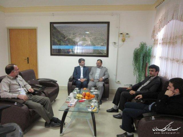 بازدید نماینده ویژه هیات بازرسی استان از حوزه انتخابیه کلاله