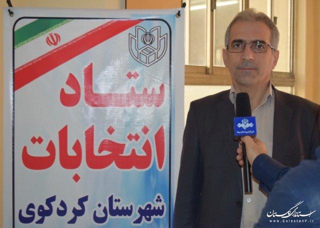 75 شعبه اخذ رای در مرحله دوم حوزه انتخابیه کردکوی