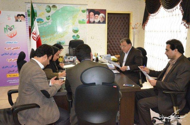 بیش از 291 هزار تعرفه تا به این لحظه در دور دوم انتخابات گلستان مصرف شده است