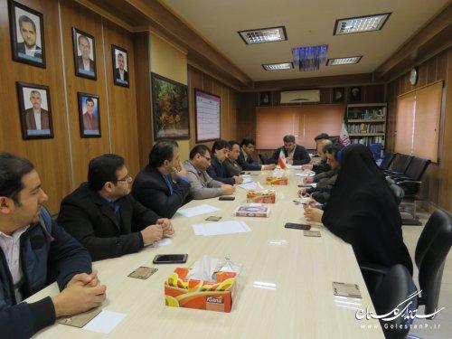 تشکیل چهارمین جلسه ستاد انتخابات در شهرستان رامیان