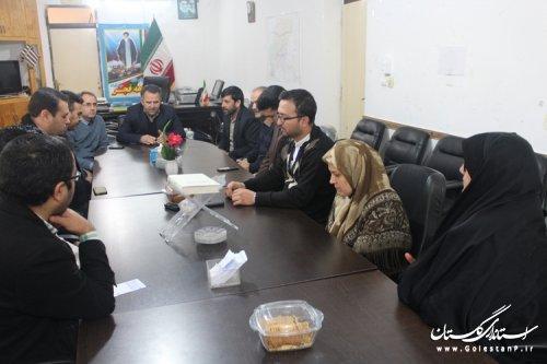 برگزاری جلسه ستاد انتخابات شهرستان مراوه تپه