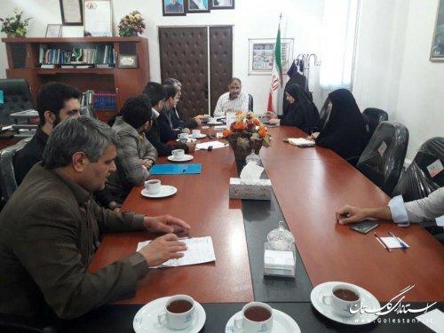 هشتمین جلسه ستاد انتخابات شهرستان بندرگز برگزار شد