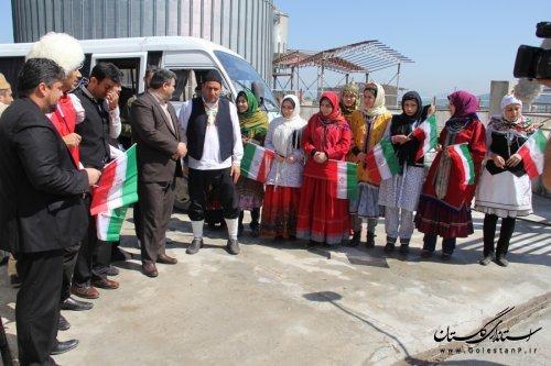 برگزاری جشن همه با هم در انتخابات با حضور فرماندار در شهرستان رامیان