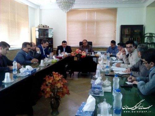 برگزاری جلسه کمیته پشتیبانی ستاد انتخابات شهرستان علی آباد کتول
