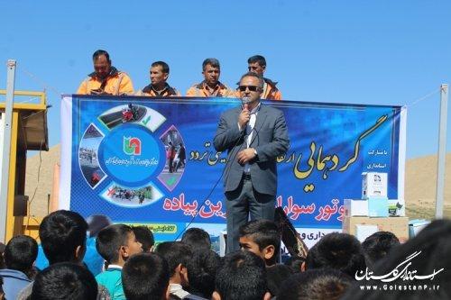 برگزاری مراسم پیاده روی خانوادگی در آرامگاه مختومقلی فراغی