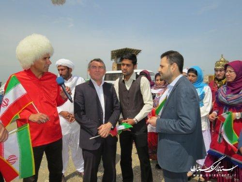 بازدید کاروان همه با هم از پروژه های تولیدی و اشتغالزائی شهرستان آق قلا