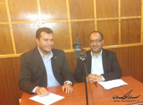 مصاحبه زنده رادیویی فرماندار علی آبادکتول با موضوع انتخابات