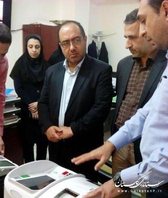برگزاری مانور انتخابات الکترونیکی درعلی آباد کتول