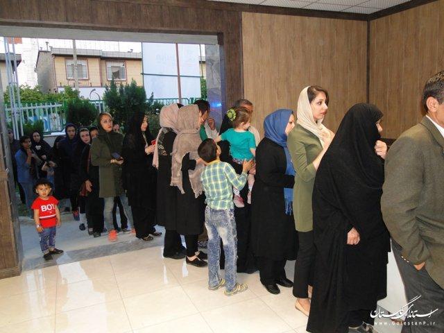 انتظار بندرگزی ها برای رای دادن در ساعات پایانی انتخابات